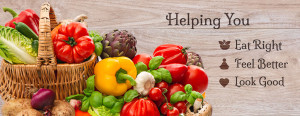 helping u eat right banner
