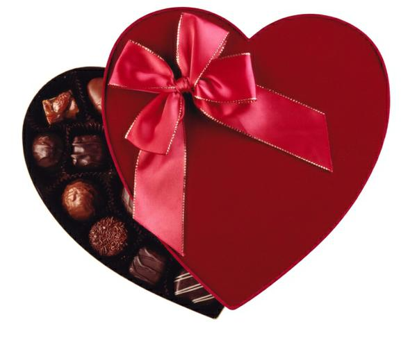 chocolate hearts box